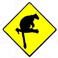 Tree Kangaroo Road Sign